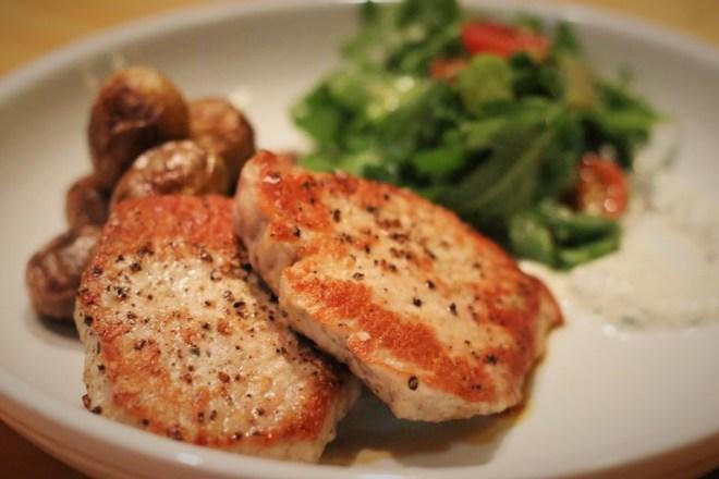Scottsdale restaurants - Pig & Pickle pork chop