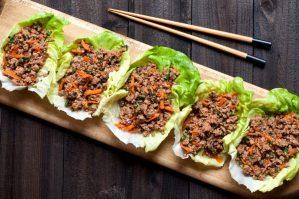 Niman Ranch Asian Pork Lettuce Wraps