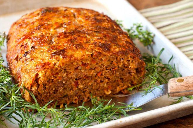 Oat and Vegetable Meatloaf Recipe