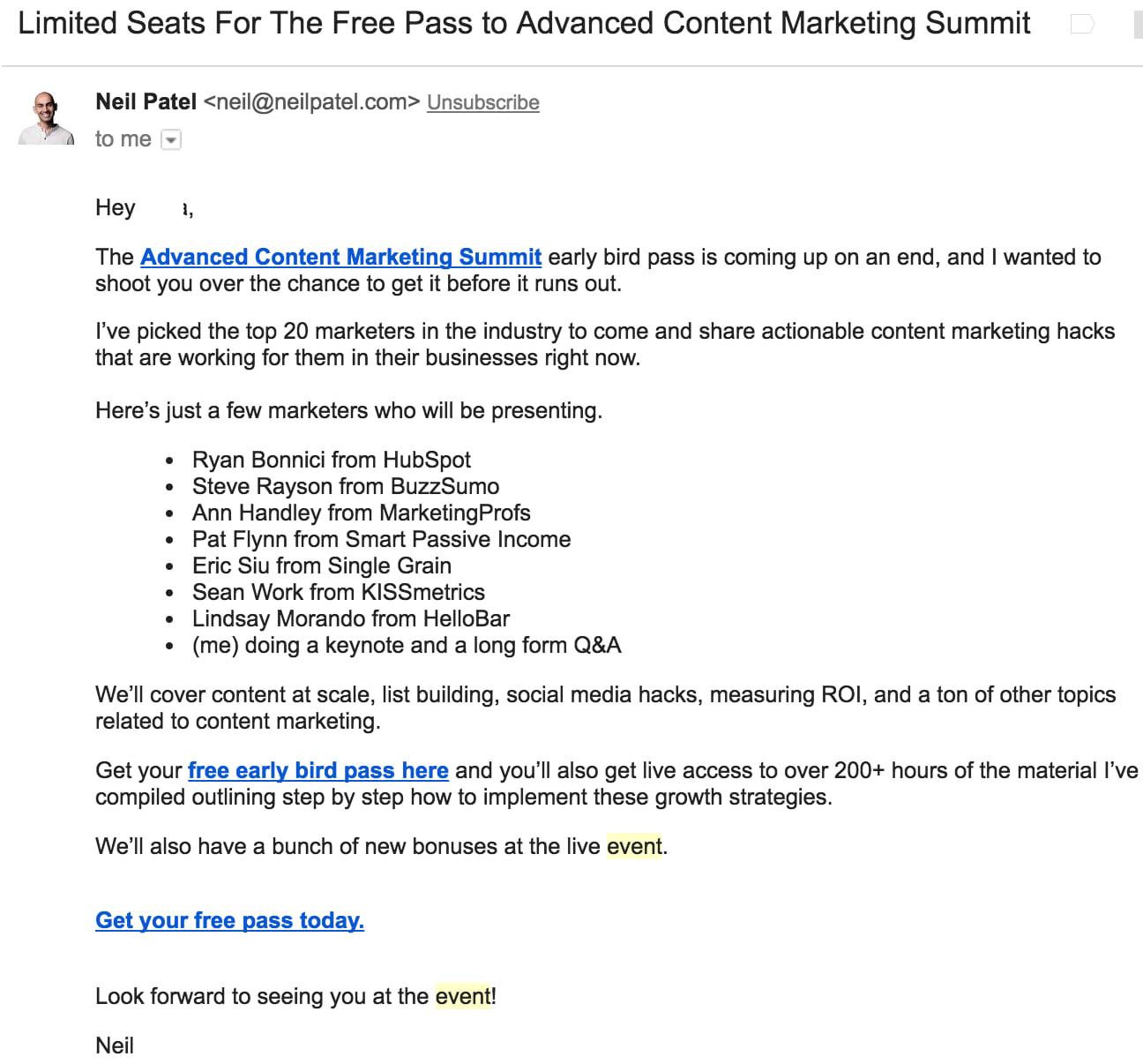 formal email invitation