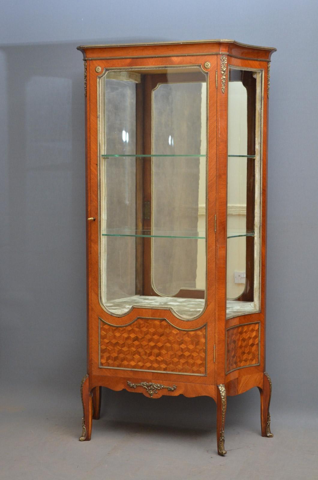 Antique French Display Cabinet  Nimbus Antiques
