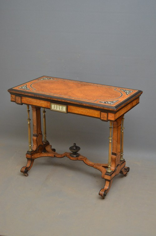 Victorian Card Table