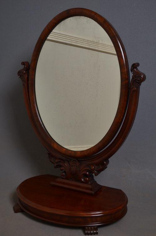 Victorian Toilet Mirror