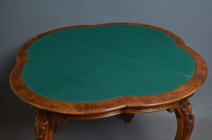 Victorian Games Table