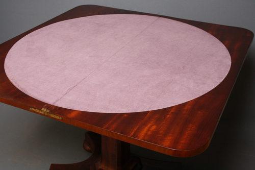 William IV Games Table