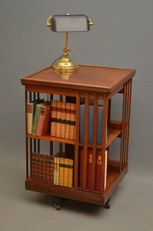 Revolving Bookcase By J. Schoolbred & Co