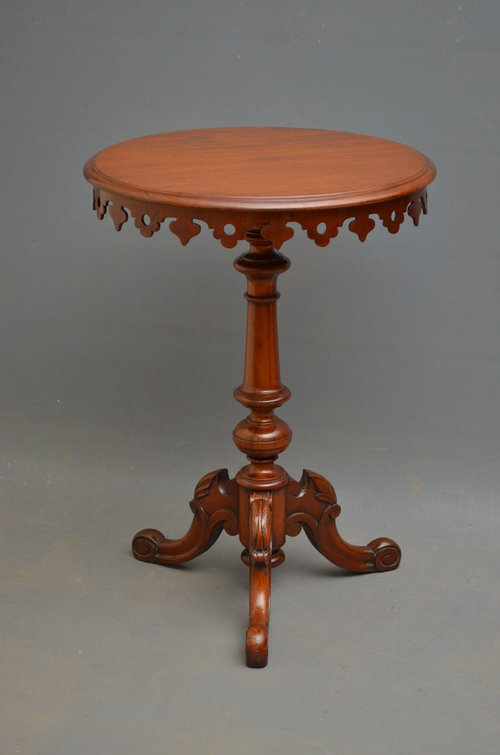 Victorian Occasional Table - Mahogany Table
