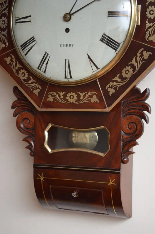Whitehurst of Derby Wall Clock