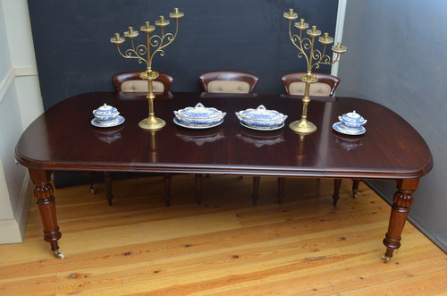 Victorian Extending Dining Table in Mahogany