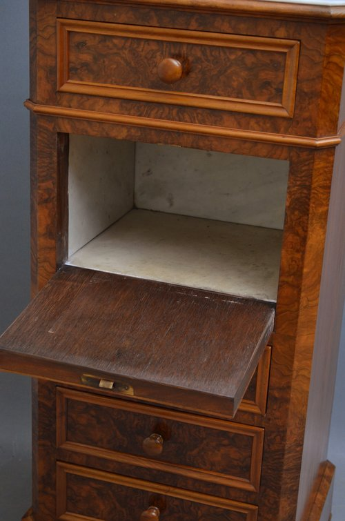 Fine Continental Cabinet - Bedside Cupboard