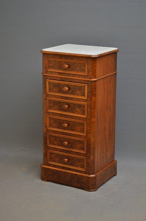 Fine Continental Cabinet - Bedside Cupboard