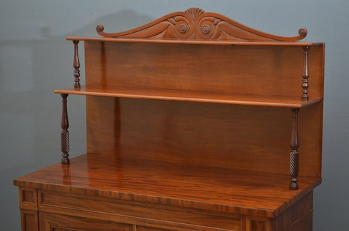A William IV Mahogany Chiffonier