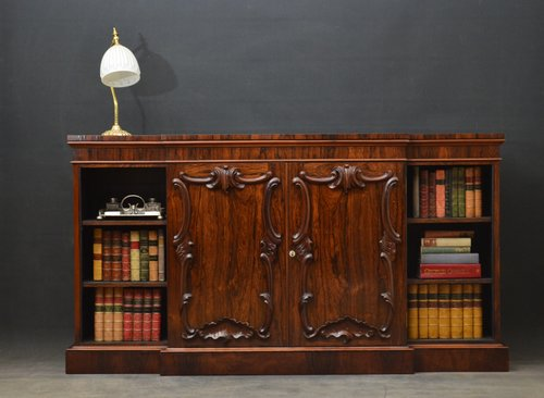 Stylish Victorian Rosewood Bookcase / Sideboard