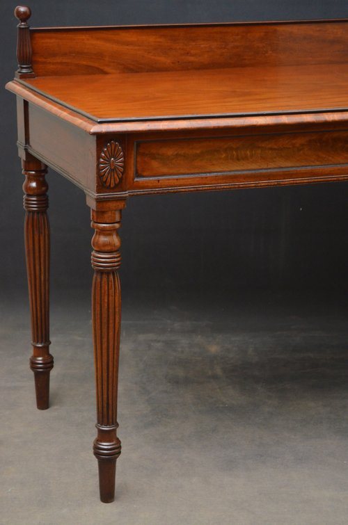 Regency Mahogany Serving Table