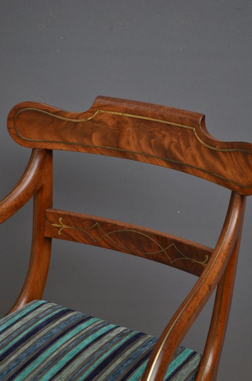 Exceptional Set of 8 William IV Dining Chairs