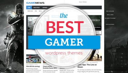 35 Best WordPress Gaming Themes For Gamers And Video Game Bloggers