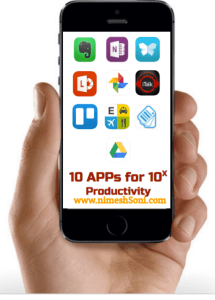 10 Apps for 10x productivity