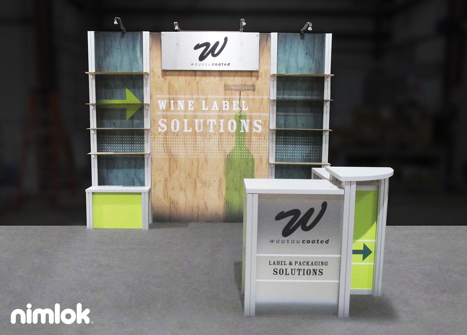 10x10 Booth Design Ideas