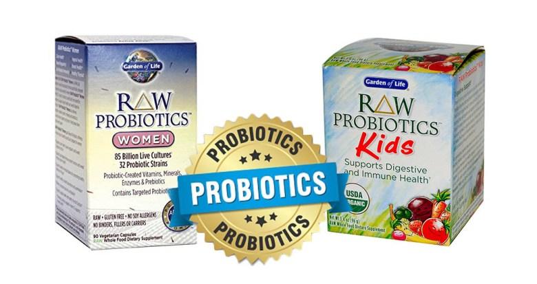 garden of life probiotics supplements
