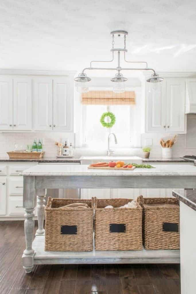 greenery above kitchen cabinets paint colors add character & warmth to a white | 10 tips and tricks