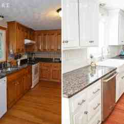Can I Paint My Kitchen Cabinets Overstock Faucets Diy White Painted Reveal