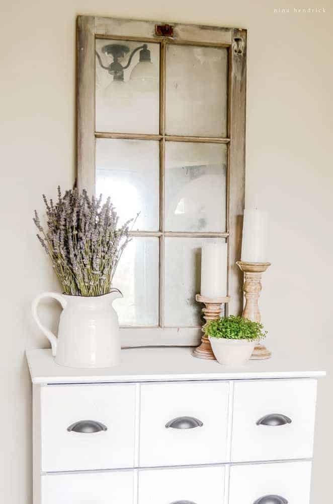 Barn Window Mirror Tutorial