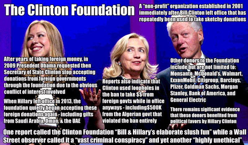 TheClintonFoundation Scandal Meme JPG1