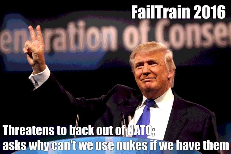 FailTrain 2016 Nukes