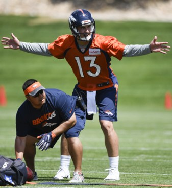 Breakout QB Trevor Siemian signals the size of contract he expects from Denver soon