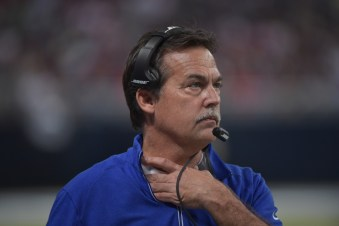 Jeff Fisher openly taunts Rams fans by refusing to actually choke himself to death
