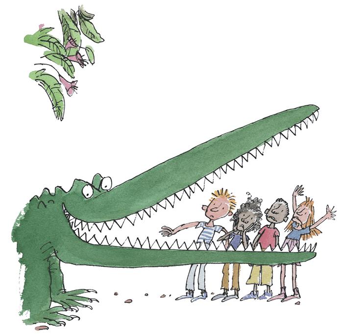 Roald Dahl_Enormous Crocodile