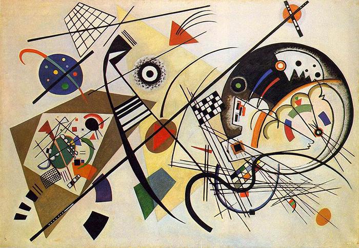 ritmo-Kandinskij-linea transversal