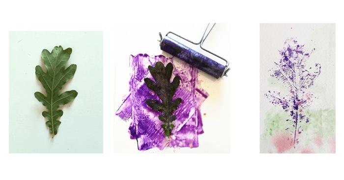 dibujar un árbol-hojas