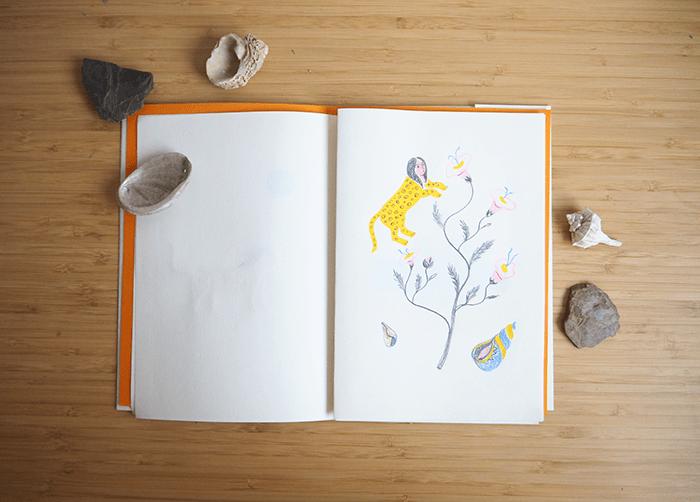 cisneros-sketchbook-dibujo naturalista