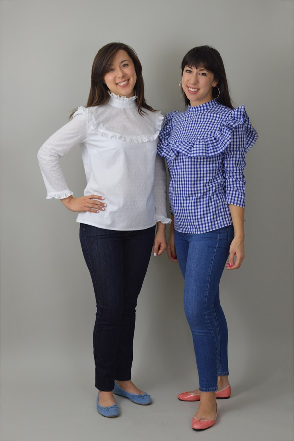 Nina Lee Bloomsbury Blouse duo
