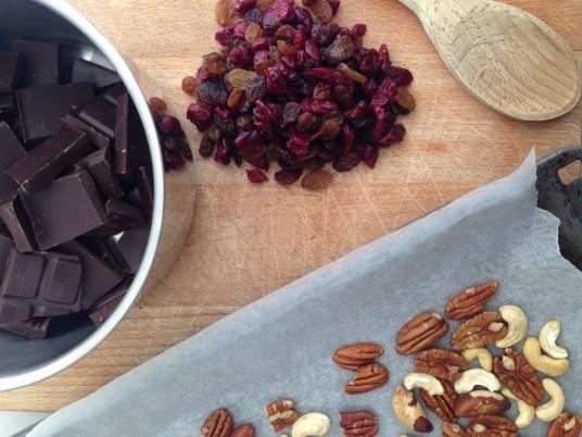 chocolade noten rotsjes