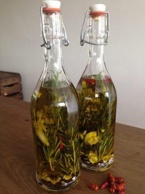 kruidige olijfolie