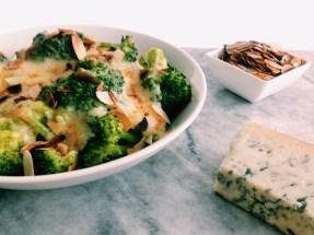 Kaassaus met broccoli en kalkoenfilet NINA LOVES FOOD