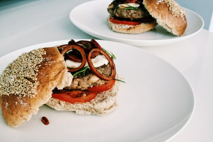 Italiaanse superfoodburgers