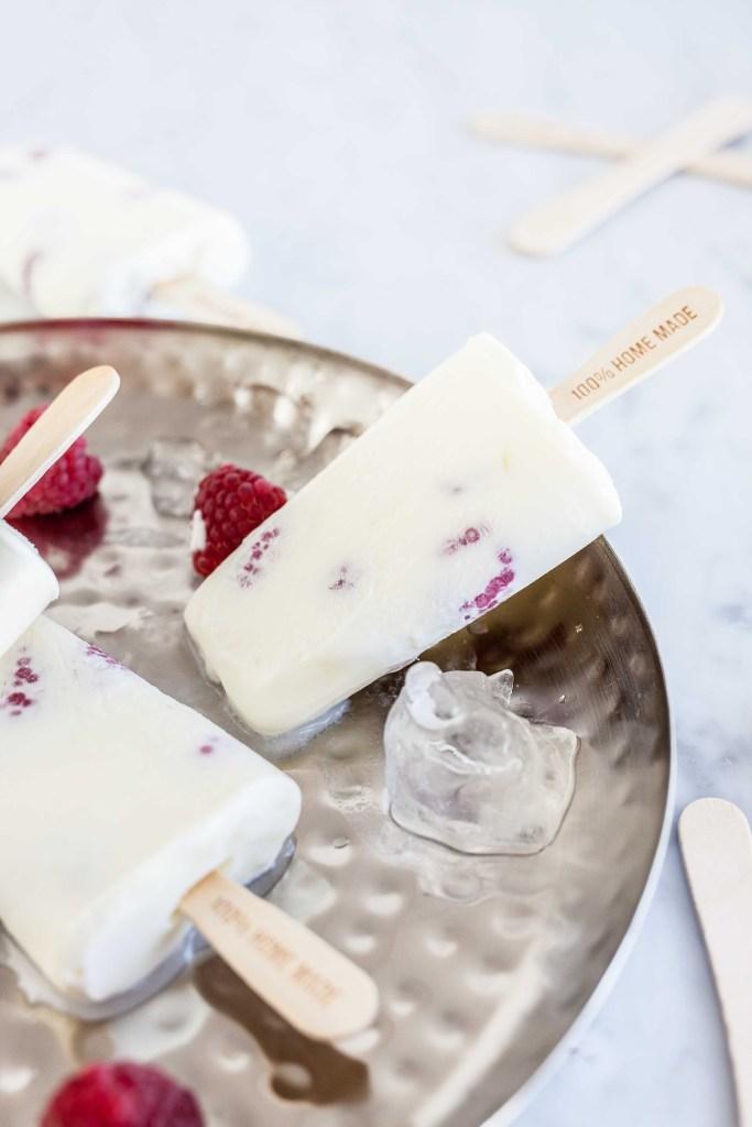 Yoghurt-framboosijsjes