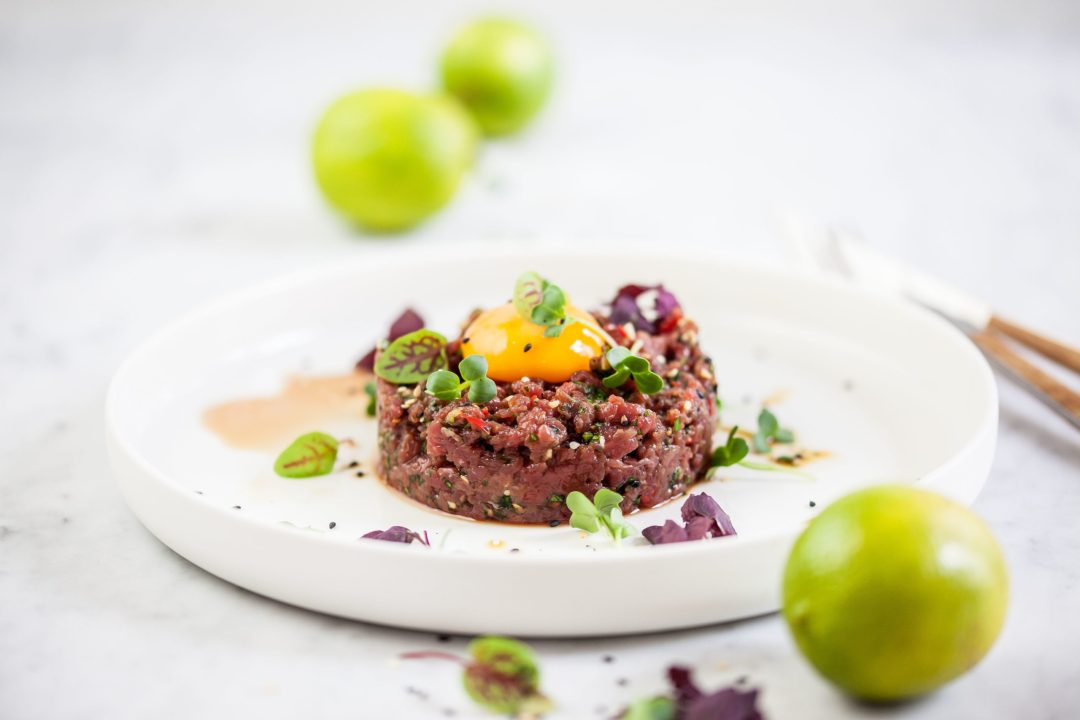 Aziatische steak tartaar