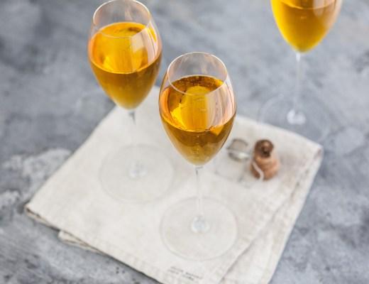 Crémant-cocktail met saffraan