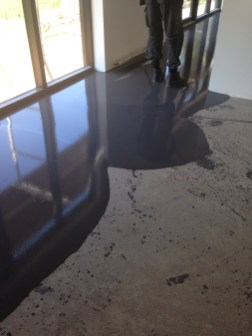 Flydende beton