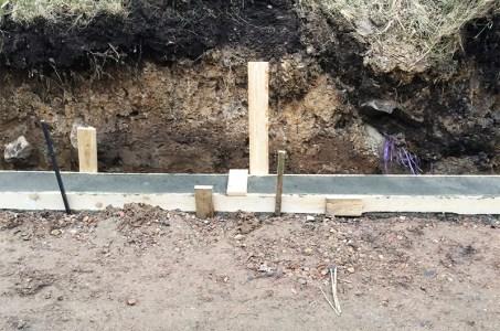 Haveprojekt del 3 – mere jord & fundamenter
