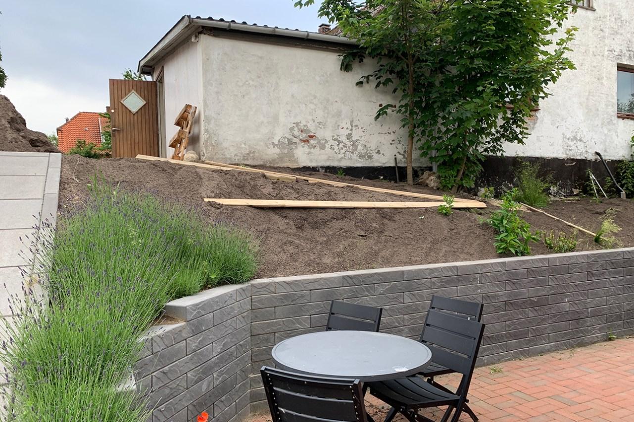 Haveprojekt - mere jord