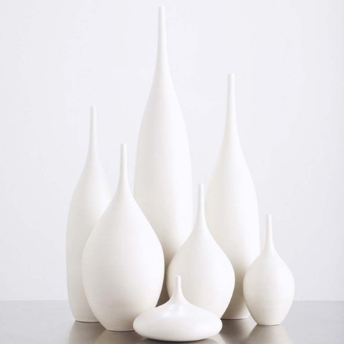 White Matte Bottle Collection