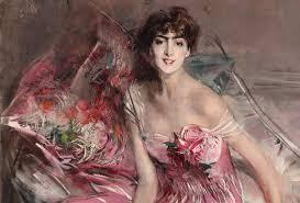 Donna in rosa di Giovanni Boldini