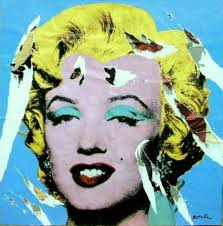 Marilyn Monroe di Andy Warhol, secondo Rotella