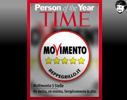 La copertina di Time dedicata al M5S