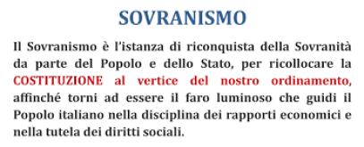sovranismo